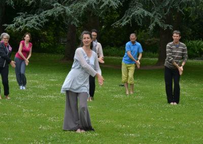 Cours de Qi Gong - Femme - Ségoleine Audrain - Nantes